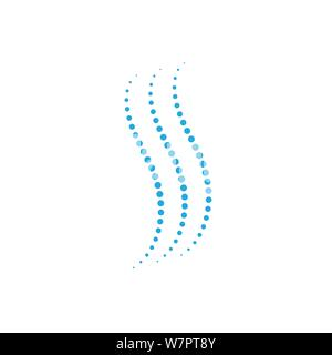 halftone circle dots vector illustration design - Stock Photo