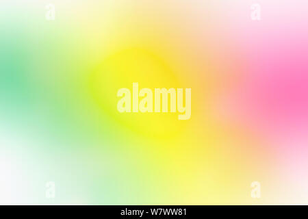 Colorful gradient mesh background in bright rainbow colors. Abstract smooth blurred texture. - Stock Photo