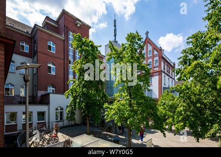 D-Oberhausen, Lower Rhine, Ruhr area, Rhineland, North Rhine-Westphalia, NRW, D-Oberhausen-Styrum, clinic, hospital, Helios St Elisabeth Clinic Oberhausen - Stock Photo