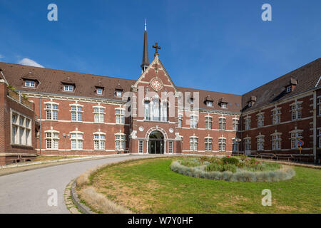 D-Oberhausen, Lower Rhine, Ruhr area, Rhineland, North Rhine-Westphalia, NRW, D-Oberhausen-Sterkrade, clinic, hospital, Johanniter Krankenhaus Oberhausen of the Evangelisches Klinikum Niederrhein, academic teaching hospital of the university Duesseldorf - Stock Photo
