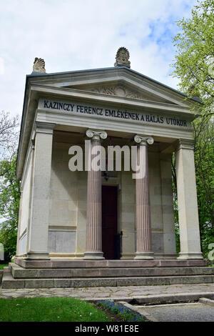 Kazinczy Memorial Hall, Széphalom, Hungary, Magyarország, Europe - Stock Photo