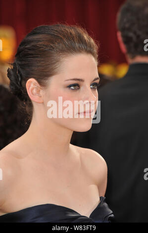 LOS ANGELES, CA. March 07, 2010: Kirsten Stewart at the 82nd Annual Academy Awards at the Kodak Theatre, Hollywood. © 2010 Paul Smith / Featureflash - Stock Photo