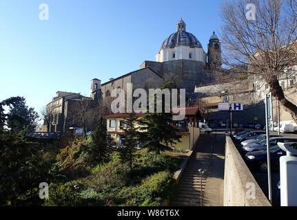 Basilica of Santa Margherita, Montefiascone Cathedral, Italy - Stock Photo