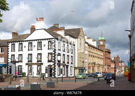 The Boardroom Pub, Castle Street, Carlisle, City of Carlisle, Cumbria, England, United Kingdom - Stock Photo