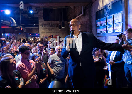 Democratic Presidential Candidate Cory Booker (D-NJ) appears during a Philadelphia Rise Event at The Fillmore Philadelphia.