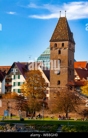 Ulm, Germany - 17.10.2017 Ulm Minster, the tallest church in the world, Germany