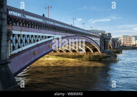 Blackfriars Bridge, London - Stock Photo