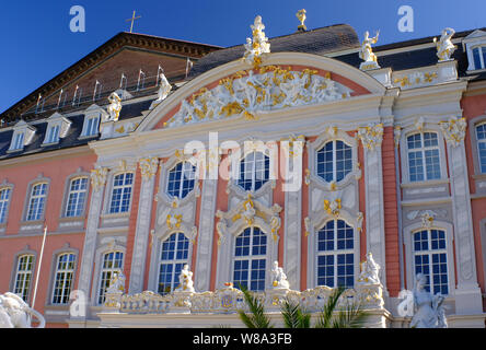 The Electoral Palace, Trier, Germany - Stock Photo