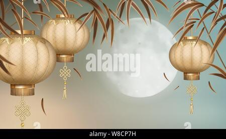 Mid Autumn Festival - Stock Photo