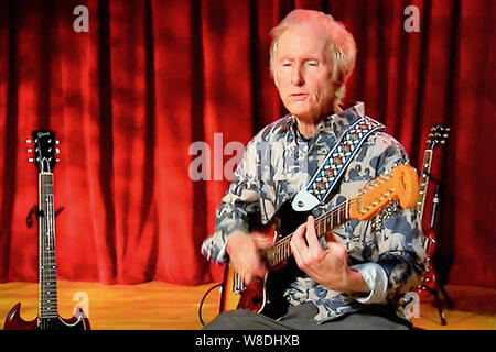 Robby Krieger  guitarist and singer-of the rock band The Doors - Stock Photo