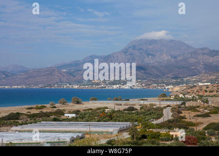 An image of landscape of East Crete, Greece - Stock Photo