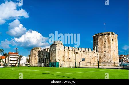 Kamerlengo fortress in Trogir, Croatia - Stock Photo