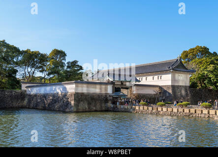 The Ōte-mon Gate, an entrance to the East Gardens of the Imperial Palace, Tokyo, Japan - Stock Photo
