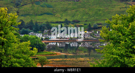 Lochgoilhead at the head of Loch Goil, Scottish Highlands, Argyle and Bute, Scotland - Stock Photo