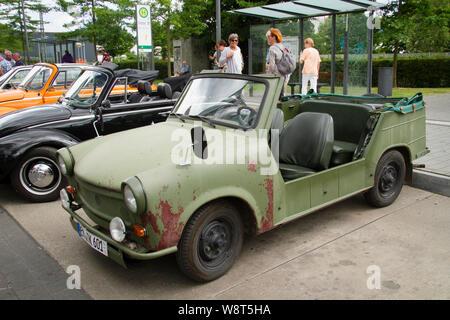 Trabant 601 Kuebel, Germany.  Trabant 601 Kuebel, Deutschland. - Stock Photo