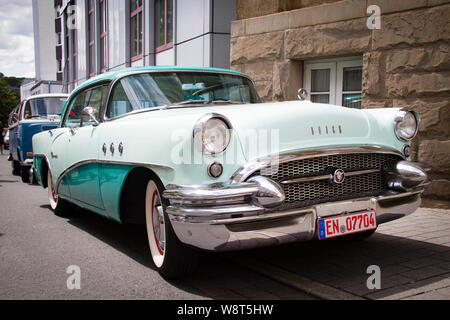 1955 Buick Special, Germany.  1955er Buick Special, Deutschland. - Stock Photo