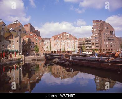 Cube Houses (Kubuswoningen), Rotterdam, South Holland (Zuid-Holland), Kingdom of the Netherlands - Stock Photo