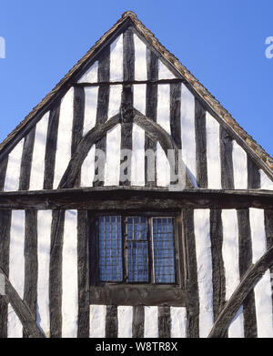 Period timber-framed house, Church Street, Lavenham, Suffolk, England, United Kingdom - Stock Photo