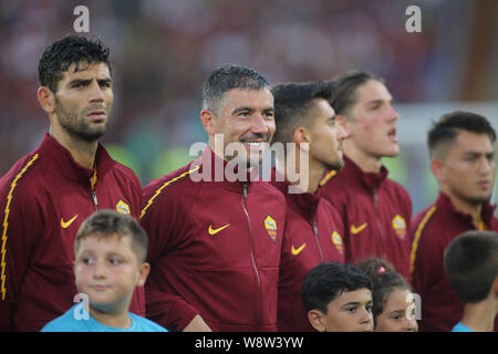 Rome, Italy. 11th Aug, 2019. Rome, Italy - August 11, 2019: KOLAROV before the the friendly match AS ROMA VS REAL MADRID at Stadio Olimpico in Rome. Credit: Independent Photo Agency/Alamy Live News - Stock Photo
