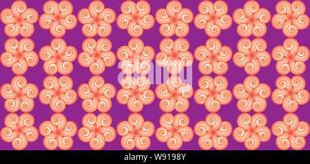 Seamless floral or geometric pattern texture background. Vector illustration. EPS 10 - Stock Photo