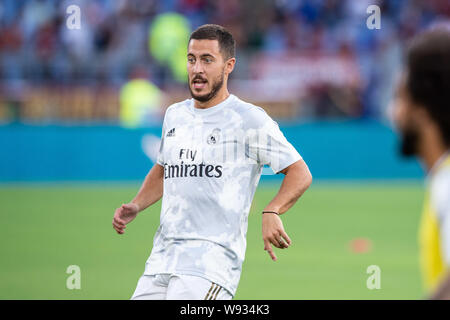 Rome, Italy. 11th Aug, 2019. 7during the pre-season friendly match between AS Roma and Real Madrid at at Stadio Olimpico, Rome, Italy on 11 August 2019. Photo by Giuseppe Maffia. Credit: UK Sports Pics Ltd/Alamy Live News - Stock Photo