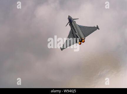 Eurofighter, F-2000 Typhoon at the Royal International Air Tattoo 2019 - Stock Photo