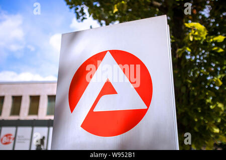 german agency for work symbol - Stock Photo
