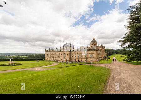 06/08/2019, Castle Howard, North Yorkshire, UK, Castle Howard is a stately home in North Yorkshire, England, 15 miles north of York. It is a private r - Stock Photo
