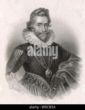 HENRY WRIOTHESLEY, 3rd Earl of Southampton (1573-1624) often identified as the Fair Youth of Shakespear's sonnets