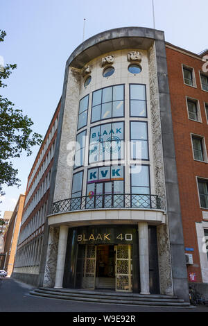 Rotterdam, Holland - July 30, 2019:  Facade of the building of the chamber of commerce in Rotterdam on Blaak 40 - Stock Photo