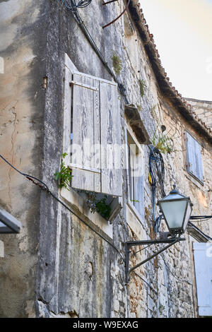 City of Trogir streets . Croatia - Stock Photo