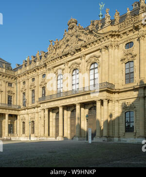 The Residenz, Würzburg - Stock Photo