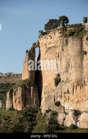 Europe, Iberia, Spain,Andalusia, Cadiz Province, Ronda,, 30074365 *** Local Caption ***  Europe, Iberia, Spain, Andalusia, Cadiz Province, Ronda, clif - Stock Photo