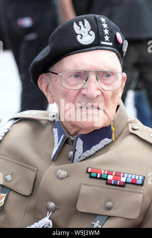 Warsaw Poland a veteran of the WW2 Polish NSZ Brygada