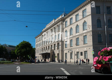 Saint-Petersburg State Institute of Technology, Russia - Stock Photo