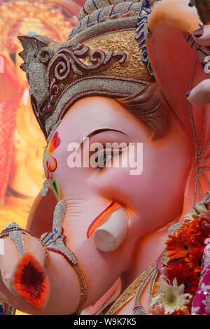 Idol of Lord Ganesha - Stock Photo