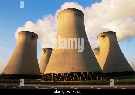 Drax coal fired power station, North Yorkshire, England, United Kingdom, Europe - Stock Photo