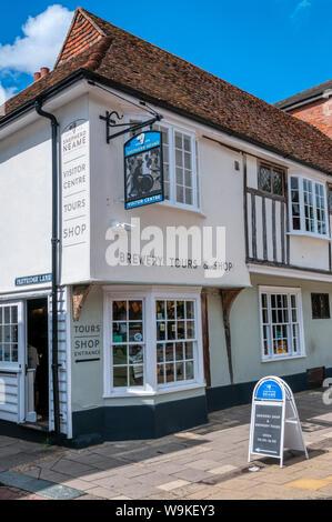 Shepherd Neame Visitor Centre in Faversham, Kent. - Stock Photo