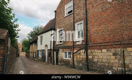 York old houses - Stock Photo