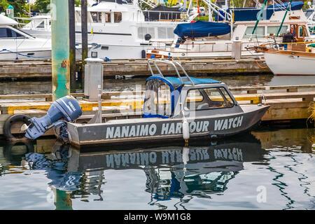 View around the beautiful port city of Nanaimo, British Columbia, Canada - Stock Photo