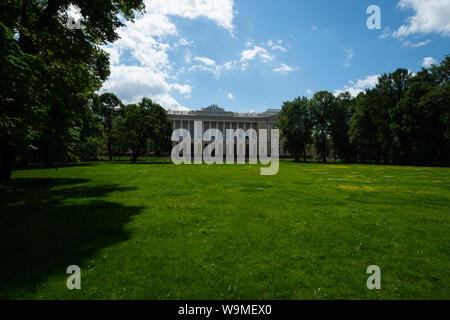 Russian Museum art museum in former Mikhailovsky Palace central St Petersburg Russia - Stock Photo