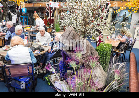 Forge Cafe,at,British Ironworks Centre and Shropshire Sculpture Park,off A5 road,Morda,Oswestry,Shropshire,England,Wales,Welsh,UK,GB,English,British, - Stock Photo