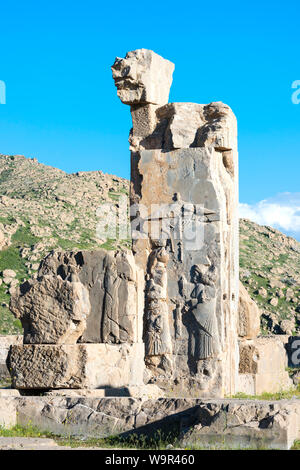 Persepolis, The Tachara, Fars Province, Islamic Republic of Iran - Stock Photo