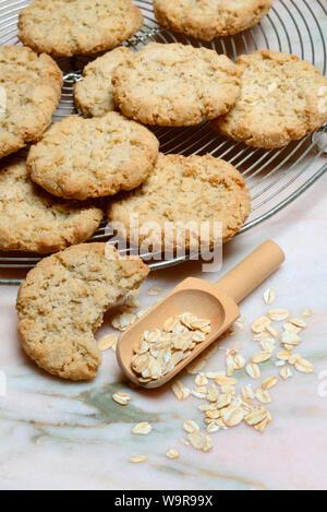Oatmeal cookies, oat flakes