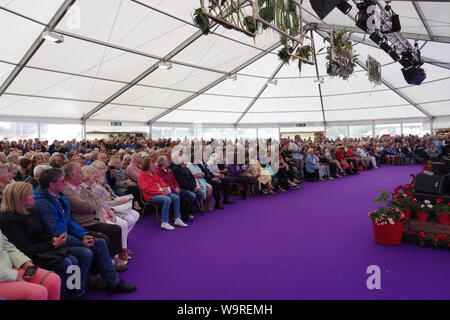 Southport, Merseyside, UK. 15th August 2019. Southport Flower Show celebrates its 90th year. Credit: Ken Biggs/Alamy Live News. - Stock Photo