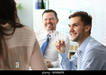 Smart business workers - Stock Photo