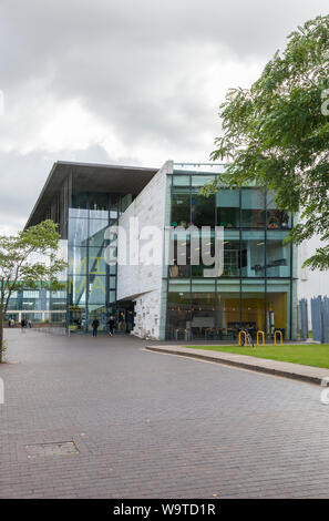 The MIMA building in Middlesbrough,England,UK - Stock Photo