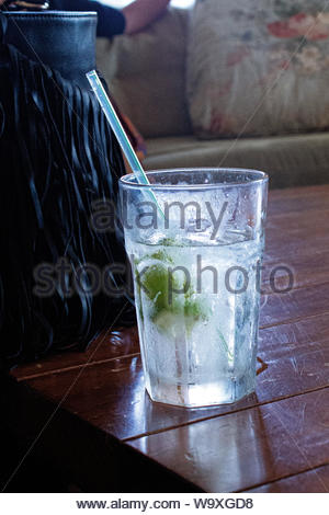 clear drinking glass - Stock Photo