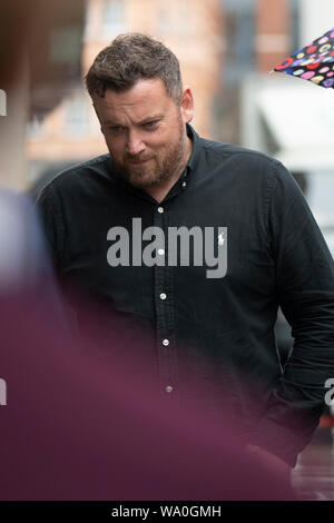Steve Ford, father of Chloe and Jake Ford, arrives at the Old Bailey in London ahead of the sentencing of their mother, Samantha Ford, after she admitted manslaughter by diminished responsibility. Mrs Ford drowned 23-month-old twins Chloe and Jack at their home in Margate, Kent, on Boxing Day 2018 - Stock Photo