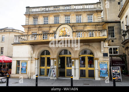 The New Theatre Royal in Bath, Somerset, UK - Stock Photo